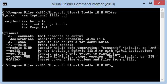 Fxcop 10 command line options